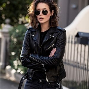 Madewell ultimate leather moto jacket